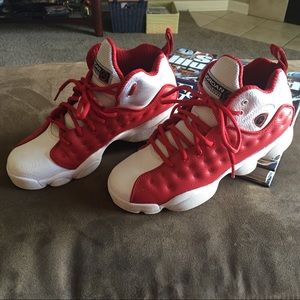 Nike Team Jordan Mid Gym Shoes